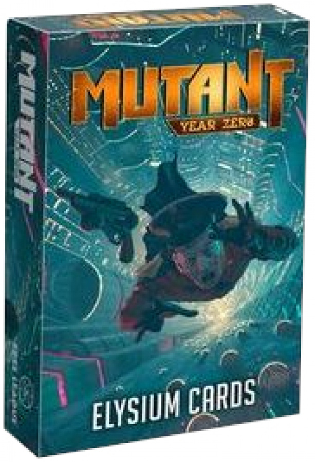 Mutant Year Zero: Elysium Cards