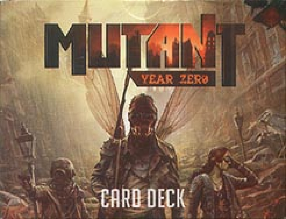 Mutant Year Zero - Card Deck