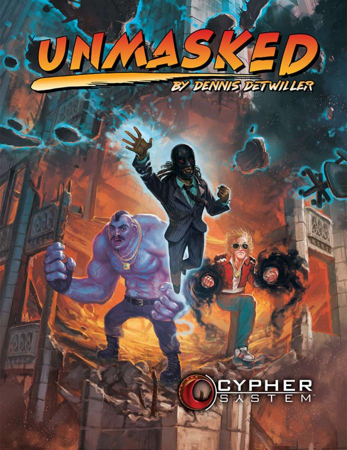 Cypher System RPG: Unmasked