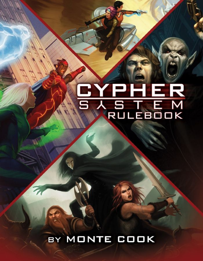 Cypher System RPG: Rulebook (2015)