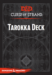 Dungeons & Dragons: Curse of Strahd - Tarokka Deck (edycja angielska)