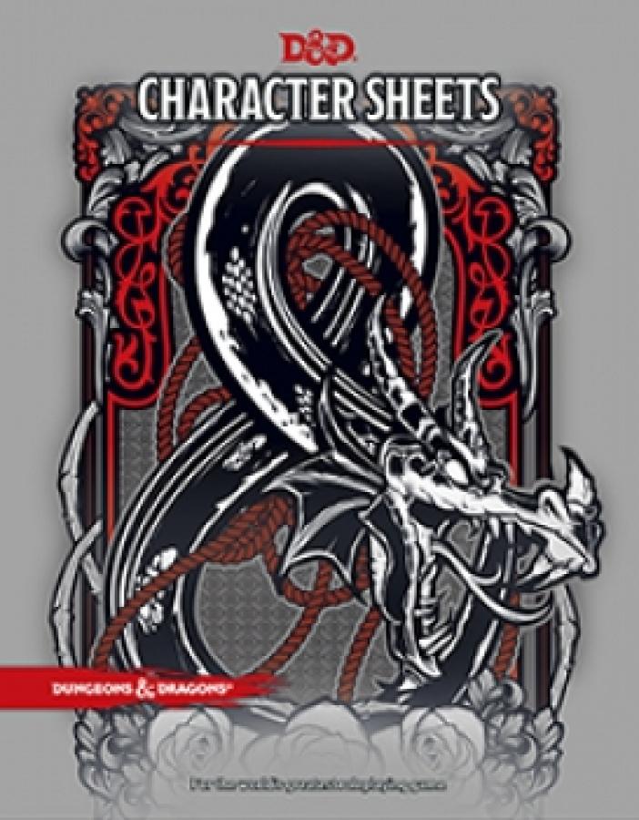 Dungeons & Dragons: Character Sheets (edycja angielska)