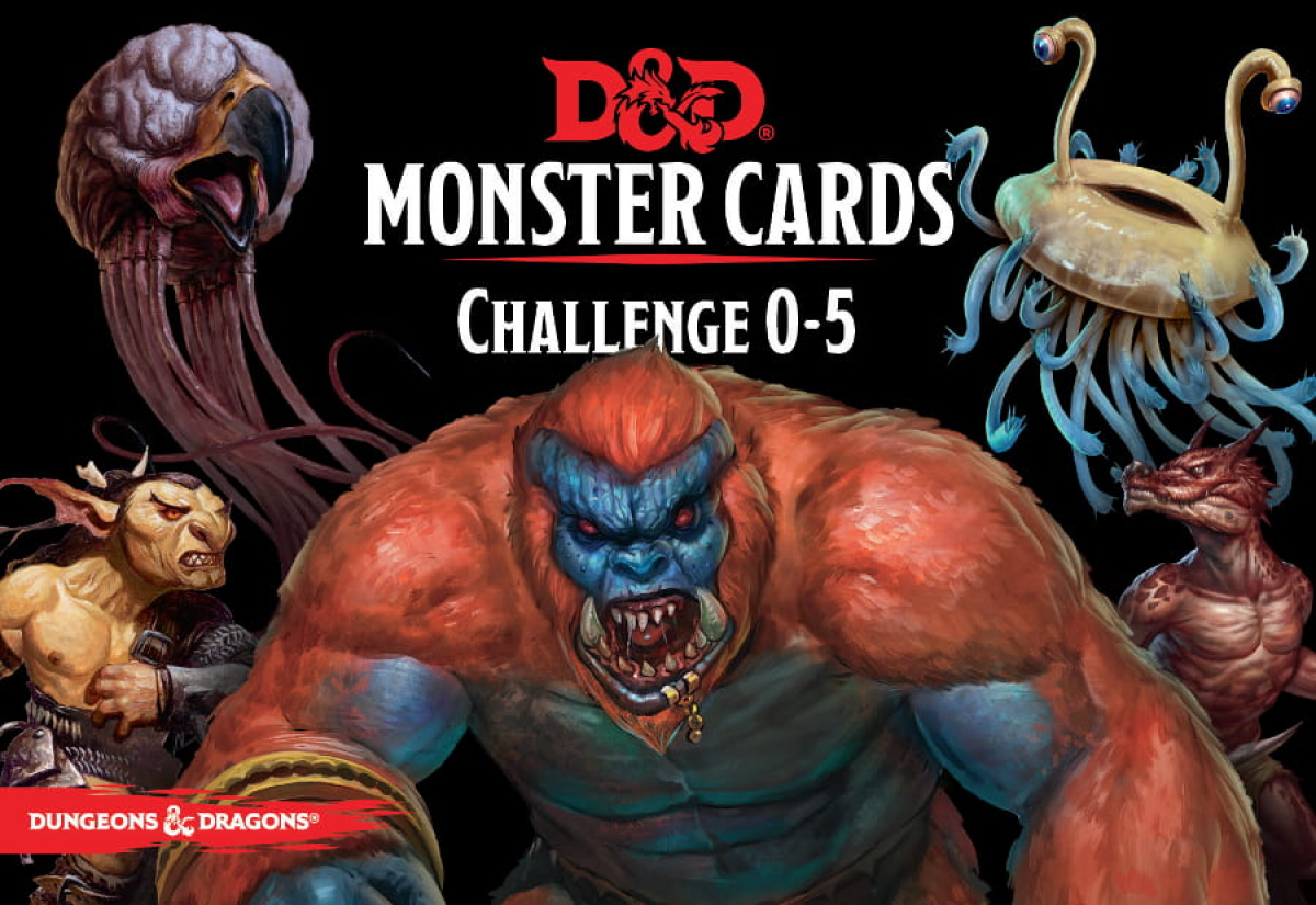 Dungeons & Dragons: Monster Cards - Challenge 0-5 (edycja angielska)