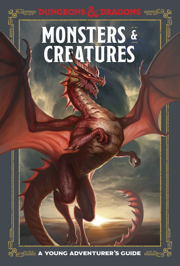 Dungeons & Dragons: A Young Adventurer's Guide - Monsters & Creatures (edycja angielska)