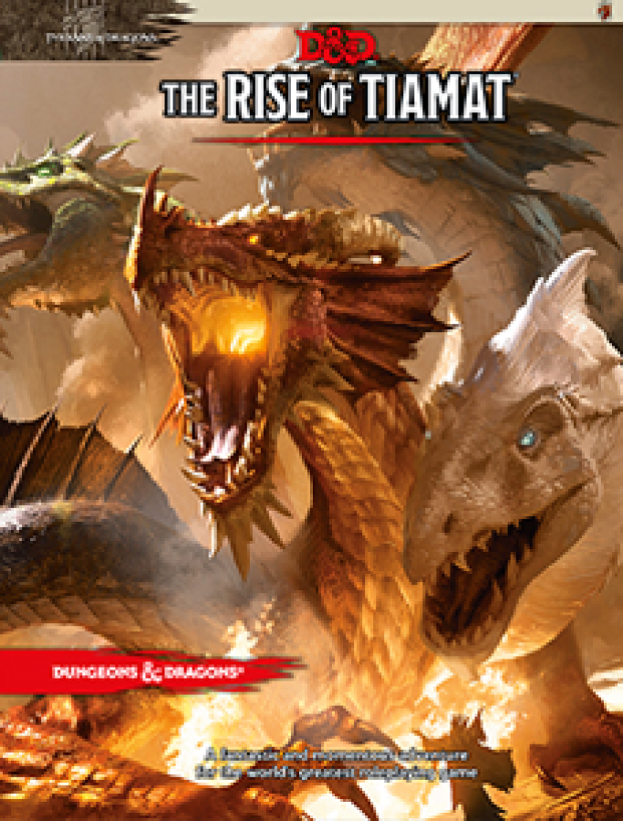 Dungeons & Dragons: The Rise of Tiamat (edycja angielska)