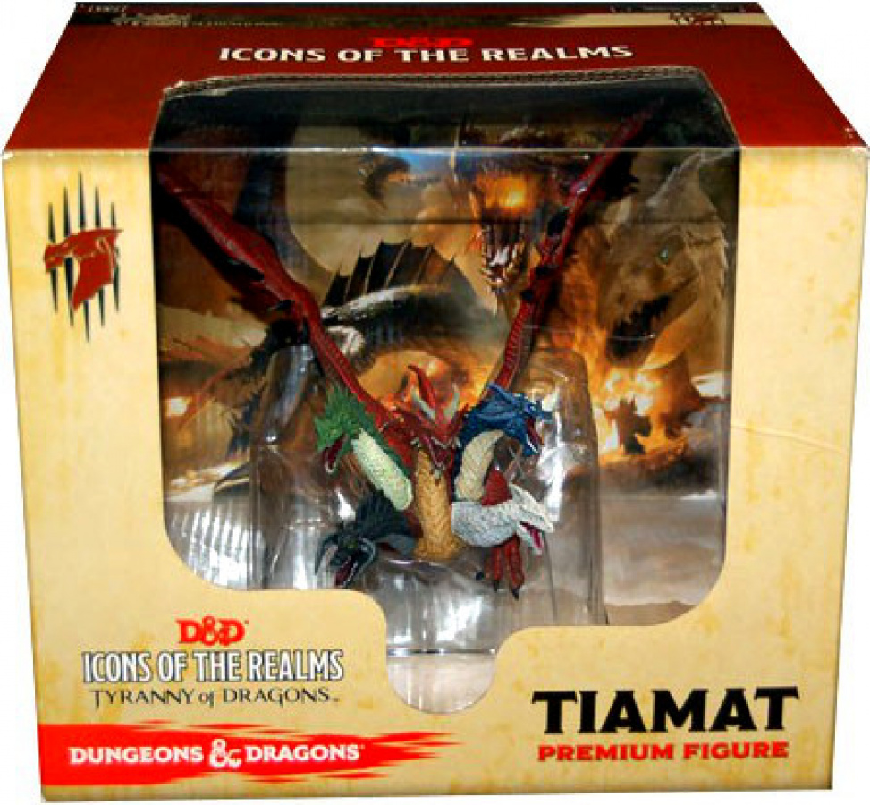 D&D 5.0: Icons of the Realms - Tiamat Premium Figure