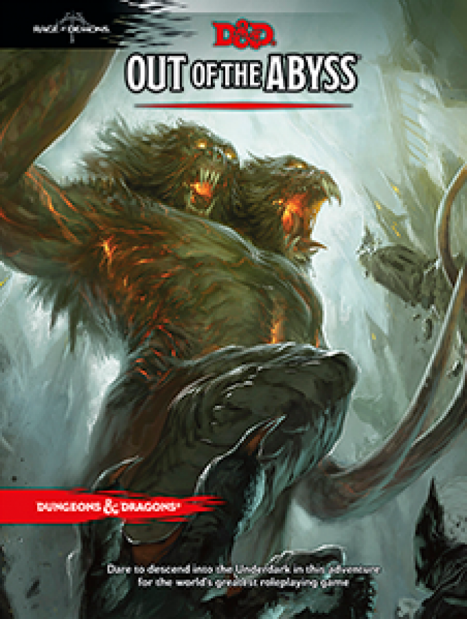 Dungeons & Dragons: Out of The Abyss (edycja angielska)