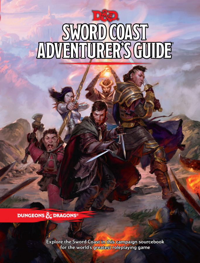 Dungeons & Dragons: Sword Coast Adventurer's Guide (edycja angielska)