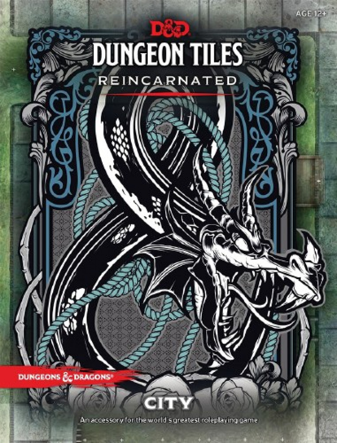 Dungeons & Dragons: Dungeon Tiles - Reincarnated - City