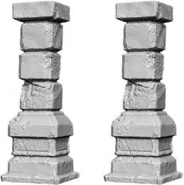 WizKids Deep Cuts: Unpainted Miniatures - Pillars
