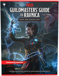 D&D 5.0: Guildmasters' Guide to Ravnica - Maps and Miscellany