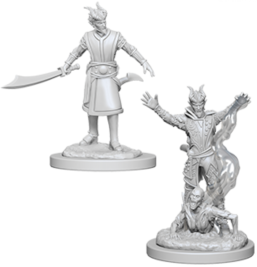 Dungeons & Dragons: Nolzur's Marvelous Miniatures - Male Tiefling Warlock
