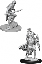 Dungeons & Dragons: Nolzur's Marvelous Miniatures - Female Elf Fighter