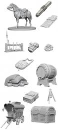 Dungeons & Dragons: Nolzur's Marvelous Miniatures - Adventurer's Campsite