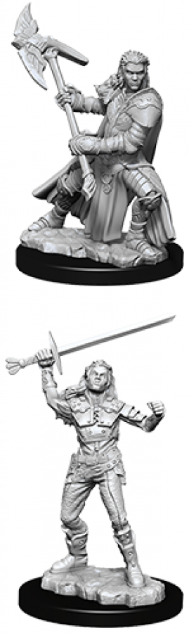 Dungeons & Dragons: Nolzur's Marvelous Miniatures - Half-Orc Fighter