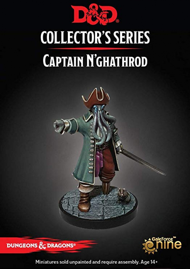 Dungeons & Dragons: Collector's Series - Captain N'ghathrod