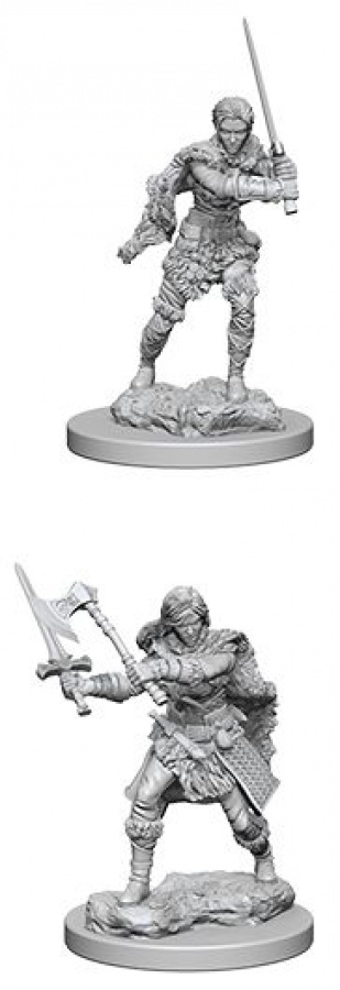Dungeons & Dragons: Nolzur's Marvelous Miniatures - Human Female Barbarian