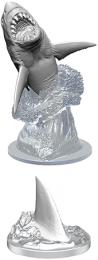 WizKids Deep Cuts: Unpainted Miniatures - Shark