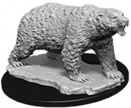 WizKids Deep Cuts: Unpainted Miniatures - Polar Bear