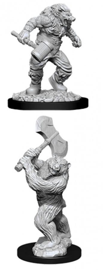 Dungeons & Dragons: Nolzur's Marvelous Miniatures - Wereboar & Werebear