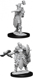 Dungeons & Dragons: Nolzur's Marvelous Miniatures - Female Half-Orc Barbarian