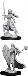Dungeons & Dragons: Nolzur's Marvelous Miniatures - Female Elf Paladin