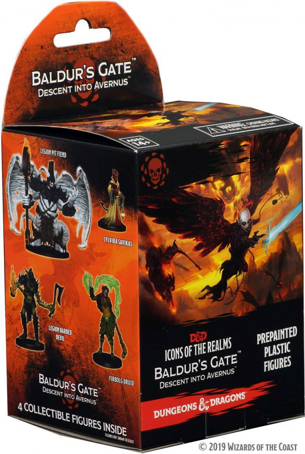 Dungeons & Dragons: Icons of the Realms - Baldur's Gate - Descent Into Avernus Booster