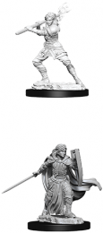 Dungeons & Dragons: Nolzur's Marvelous Miniatures - Female Human Paladin