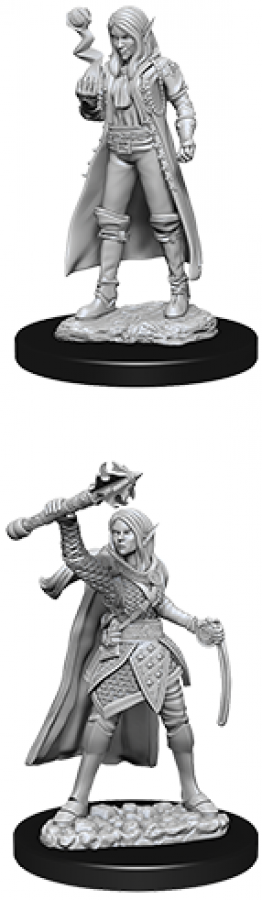 Dungeons & Dragons: Nolzur's Marvelous Miniatures - Female Elf Cleric