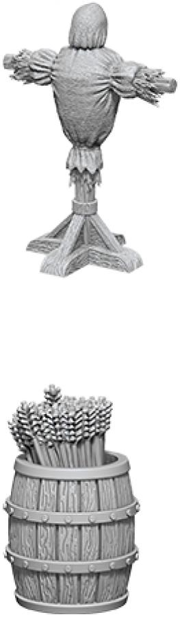 WizKids Deep Cuts: Unpainted Miniatures - Archery Range