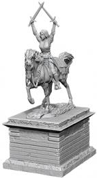 WizKids Deep Cuts: Unpainted Miniatures - Heroic Statue