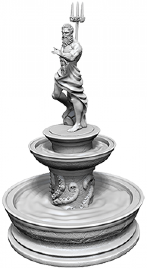 WizKids Deep Cuts: Unpainted Miniatures - Fountain