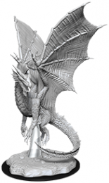Dungeons & Dragons: Nolzur's Marvelous Miniatures - Young Silver Dragon