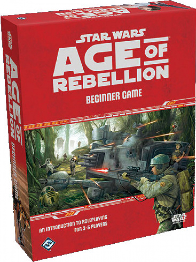 Star Wars: Age of Rebellion - Beginner Game