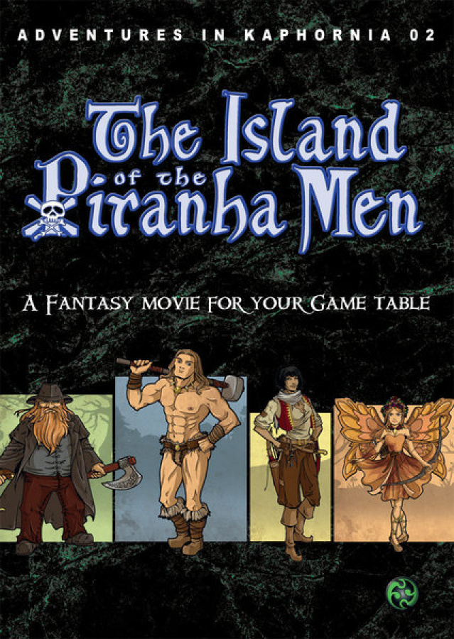 Adventures in Kaphornia 02: The Island of the Piranha Men