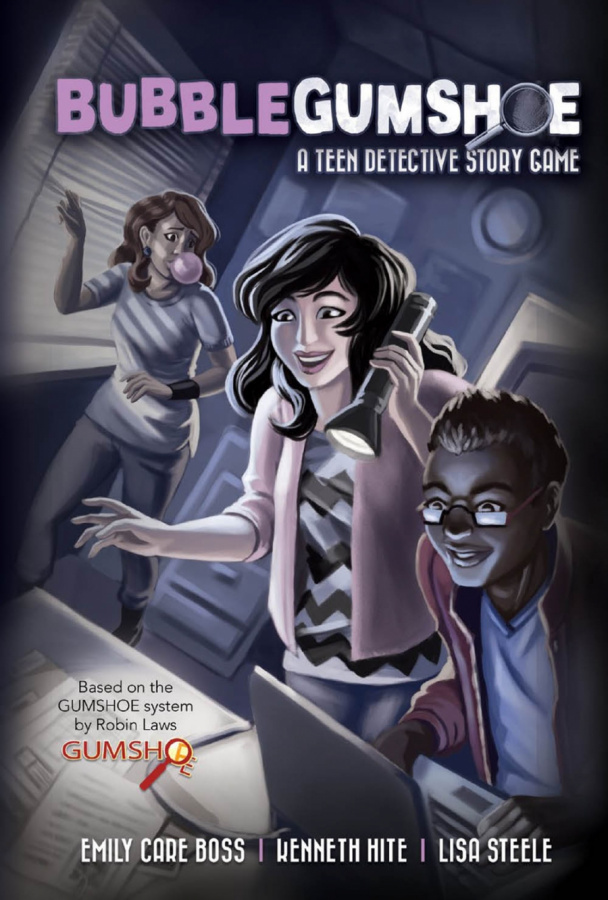 BubbleGumshoe - A Teen Detective Story Game