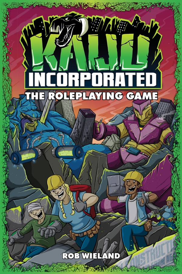 Kaiju Incorporated: The Roleplaying Game (twarda oprawa)