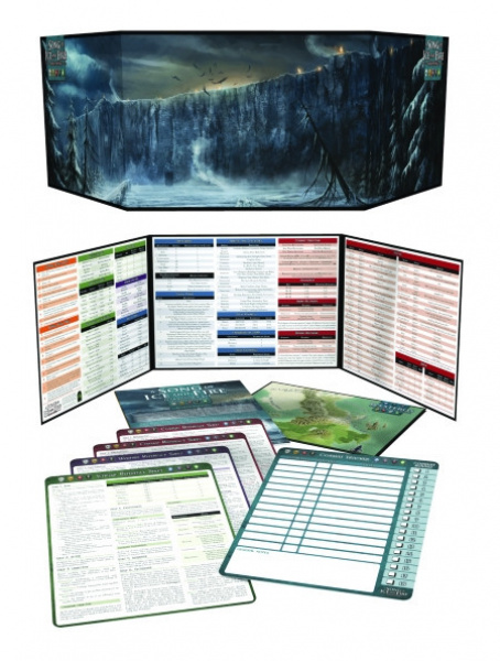A Song of Ice and Fire Roleplaying - Narrator's Kit (Revised Edition)
