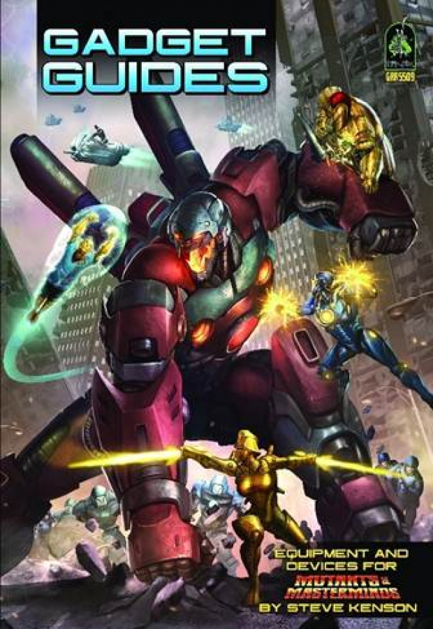 Mutants & Masterminds RPG - Gadget Guides