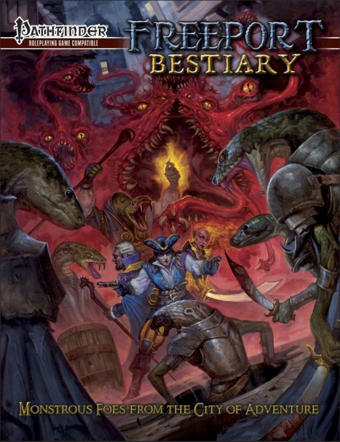 Freeport Bestiary (Pathfinder Compatible)