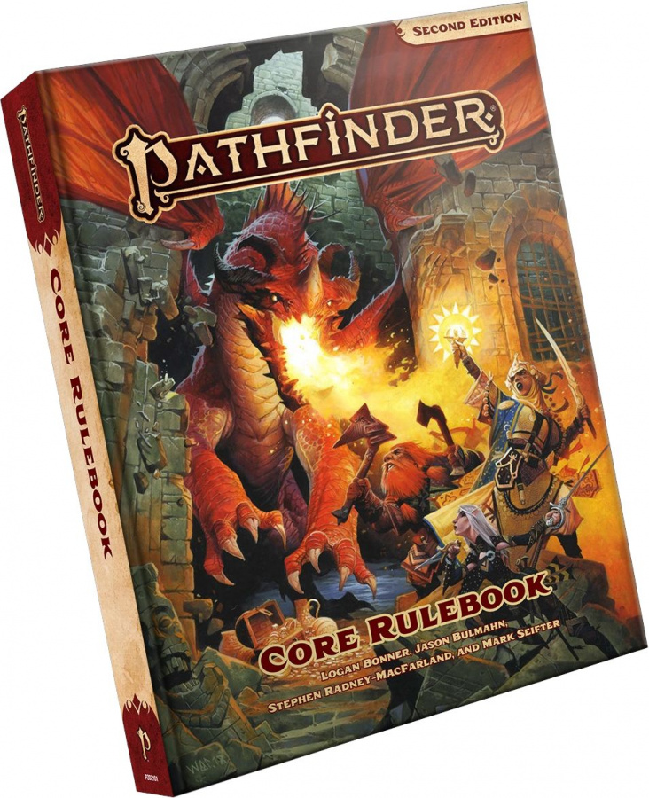 Pathfinder Roleplaying Game (Second Edition): Core Rulebook