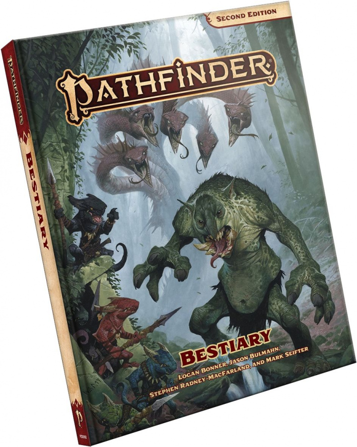 Pathfinder Roleplaying Game (Second Edition): Bestiary
