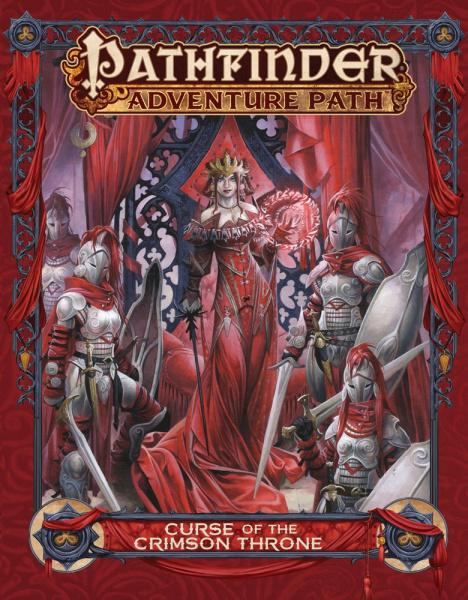Pathfinder Roleplaying Game: Adventure Path - Curse of the Crimson Throne (twarda oprawa)