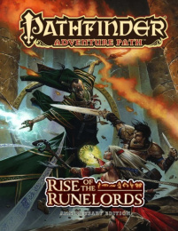 Pathfinder Roleplaying Game: Adventure Path - Rise of the Runelords Anniversary Edition