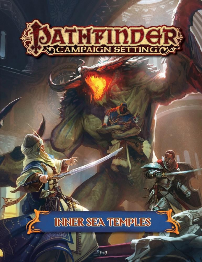 Pathfinder Roleplaying Game: Campaign Setting - Inner Sea Temples