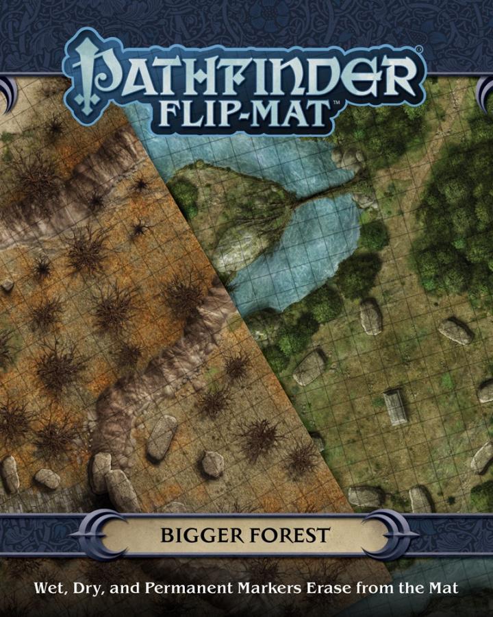 Pathfinder Flip-Mat: Bigger Forest