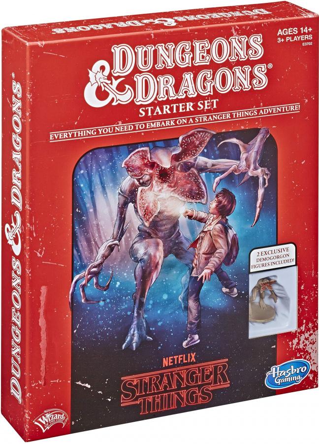 Dungeons & Dragons Roleplaying Game: Stranger Things - Starter Set
