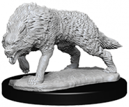 WizKids Deep Cuts: Unpainted Miniatures - Timber Wolves