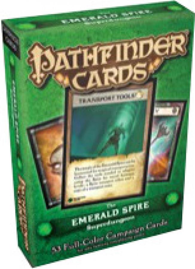 Pathfinder Campaign Cards: The Emerald Spire Superdungeon
