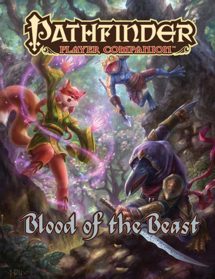 Pathfinder Roleplaying Game: Player Companion - Blood of the Beast